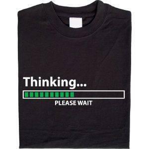 Animiertes Thinking Shirt