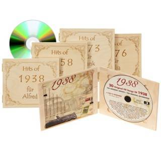 CD mit Jahrgangsmusik (1920 - 1994)