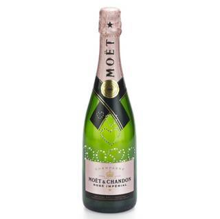 Champagner mit persönlicher Swarovski-Veredelung