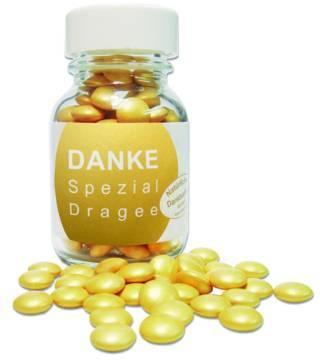 DANKE Spezial-Dragées - Schokolinsen