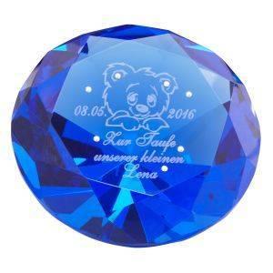 Diamant für Kinder mit Gravur