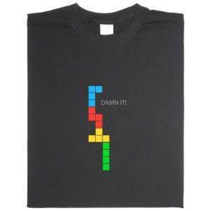 Fair gehandeltes Öko-T-Shirt: Damn it