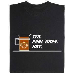 Fair gehandeltes Öko-T-Shirt: Earl Grey