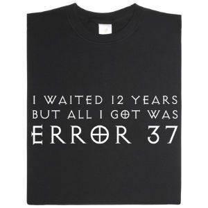 Fair gehandeltes Öko-T-Shirt: Error 37