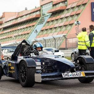 Formel-3000 Replica selber fahren - Hockenheimring