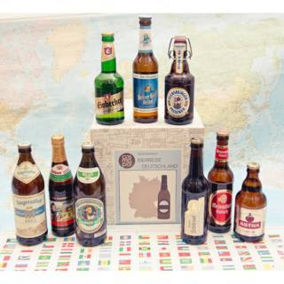 """Geschenkset """"Deutschlands Biere"""""""