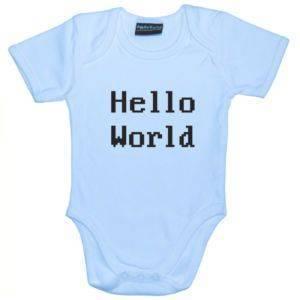 Hello World Baby Body