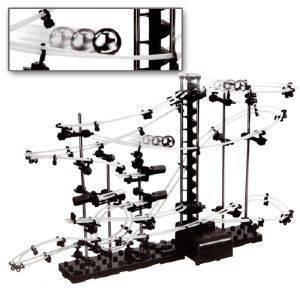 Kugelbahn mit Looping (193-teiliger Bausatz)