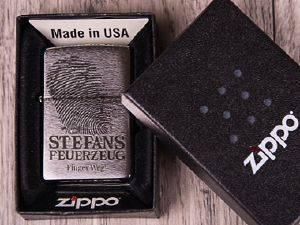 Original Zippo mit Gravur