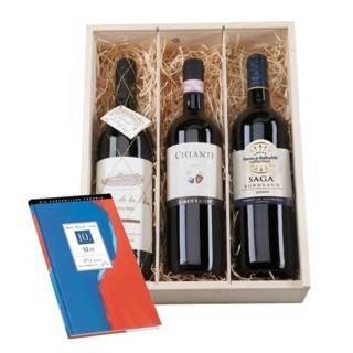 Personalisierbares Geburtstagsset: Wein & Chronik