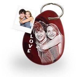 Personalisierter Liebesgeschenke Schlüsselanhänger