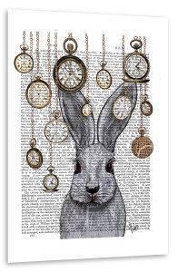 Poster - Folge dem Kaninchen - Künstlerin FabFunky