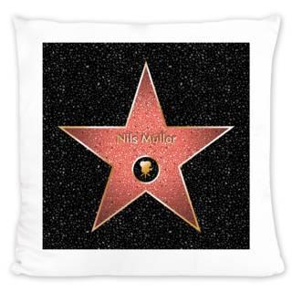 """""""Star of Fame""""-Kissen bedrucken"""
