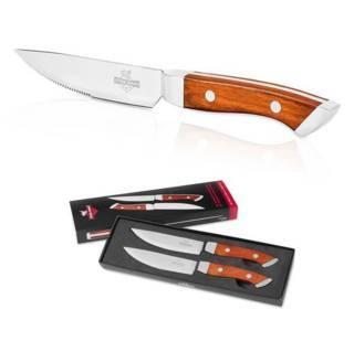 Steakmesser mit Gravur, 2er Set