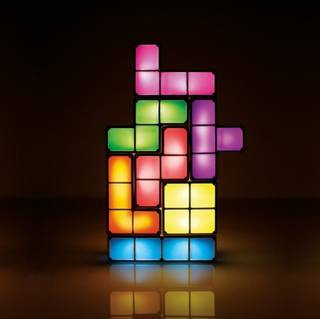Tetris™-Lampe