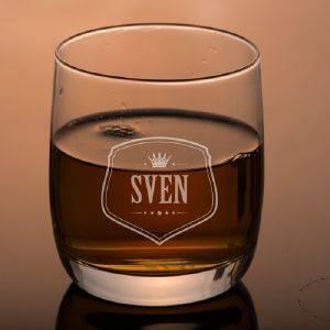 Tumbler-Whiskyglas gravieren lassen